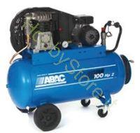 Immagine di Compressore Abac Bicilindrico a cinghia 100 litri