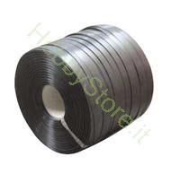 Immagine di Reggetta in plastica a rotolo 12 x 0,5 mm  foro 62 mm