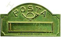 Immagine di Buche porta Lettere Rivista mm.340x180 cm