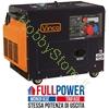 Immagine di Generatore di corrente Diesel Silenziato 5,5 kW 60230 FULL POWER monofase / trifase