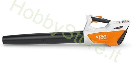 soffiatore stihl bga45 batteria integrata