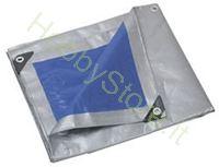 Immagine di Telo occhiellato 250 gr in polietilene 10x15