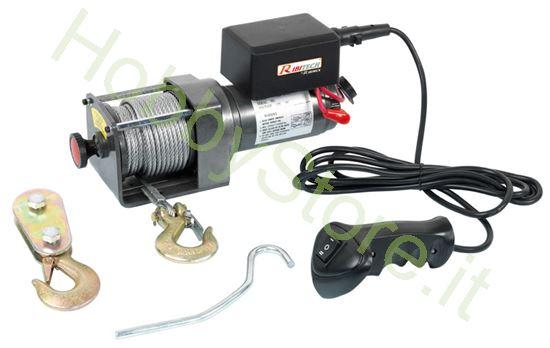 Picture of Argano elettrico 12 volt portata 1.100-2.500 Kg