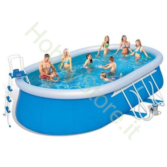 Picture of Piscina Bestway Fast Set ovale 549x366x122h cm