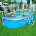 Picture of Piscina Bestway Fast Set ovale 610x366x122h cm