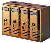 Immagine di Casellari Postali Alubox Alu 42x30x17,5 cm