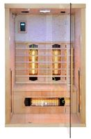 sauna irradiante pr-c02 per due persone