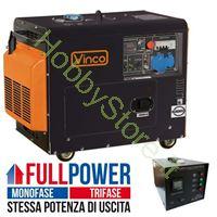 Immagine di Generatore Diesel Silenziato 5,5 kW 60230ATS65279 FULL POWER monofase/trifase