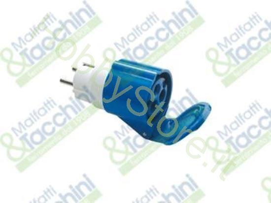 Picture of Adatt.Spina Cee 2P+T 16A Presa Cod. 133049