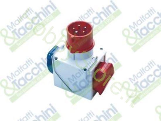 Picture of Adattatore Cee Doppio Mix Cod. 126665