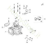 Ricambi Cilindro e Basamento G 48 PK Comfort Plus