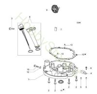 Coperchio Basamento G 48 PK Comfort Plus
