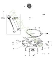 Immagine di Coperchio Basamento G 48 TK Comfort Plus Trazione