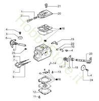 Carburatore WT-781DR per GS 370