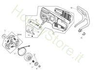 Copricatena e frizione per GST 250