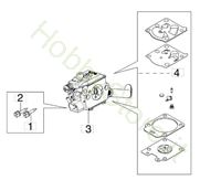 Carburatore WT-1163 per GST 250