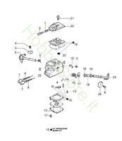 Carburatore WT 780 F per GS 440