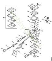 Carburatore BR 450