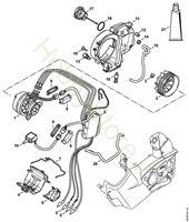 Elettromotore, modulo elettronico, Serbatoio olio MSA 160 T Stihl
