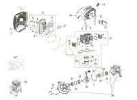 Motore per BC 530 S