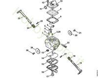 Carburatore C1Q-S152  MS 180 Stihl