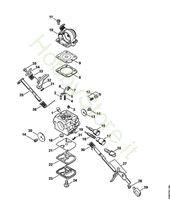 Carburatore C1Q-S123 Ms 171 Stihl