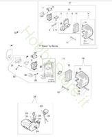 Serbatoio e filtro aria per 453 BP Ergo