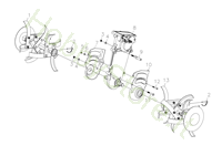 Telaio per MH 198 RK (K800 HC)