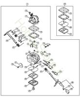 Carburatore C1Q-S121 (02.2011) MS 181 Stihl